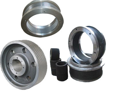 ring die and rollers for feed pellet mill