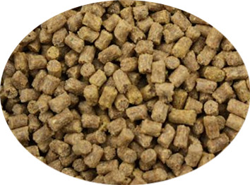 oil coating livestock feed pellets