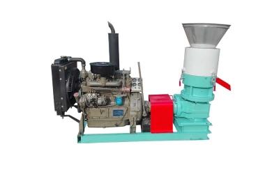 Diesel Flat Die Feed Pellet Mill