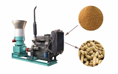 Popular Feed Pellet Mill In Rural Areas
