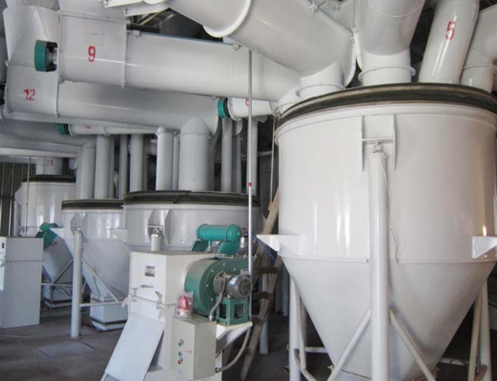Automatic Feed Pellet Batching System