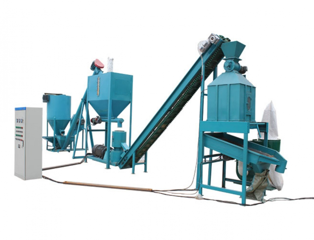 800-1000kg/h Feed Pellet Production Line