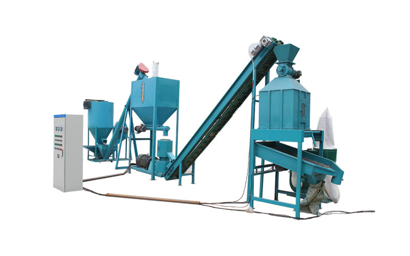 small feed pellet plant