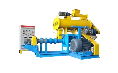 wet type fish feed extruder